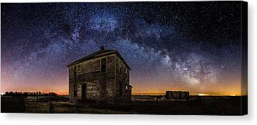 Forgotten Under The Stars  Canvas Print