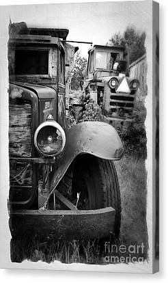 Forgotten Workers Canvas Print by Perry Webster