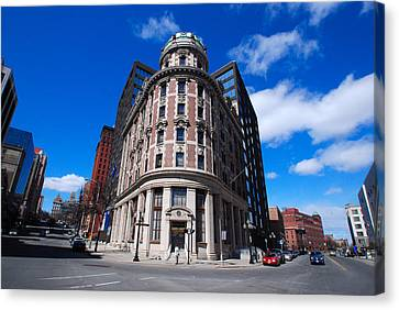 Canvas Print featuring the photograph Fork Albany N Y by John Schneider