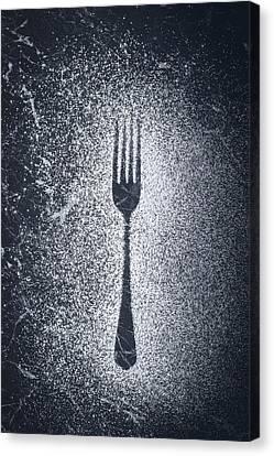 Fork Canvas Print by Amanda Elwell
