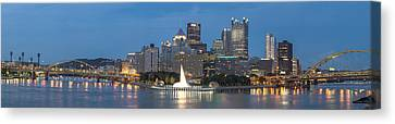 Forks Of The Ohio Canvas Print by Jennifer Grover