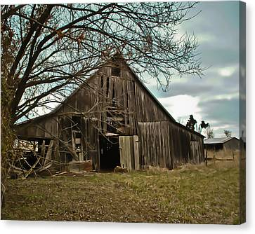 Forlorn Barn Canvas Print
