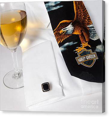 Canvas Print featuring the photograph Formal Attire by Cecil Fuselier