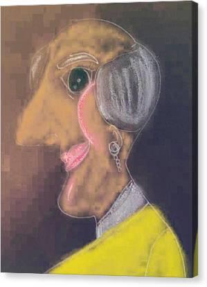Formalda Hyde Canvas Print by Melissa Osborne