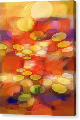 Formation Canvas Print by Lutz Baar