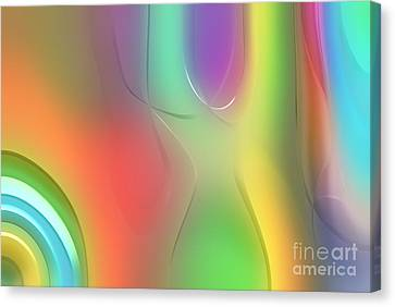 Lime Canvas Print - Formes Lascives - 212 by Variance Collections