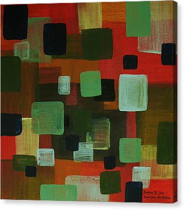 Canvas Print featuring the painting Forms by Barbara St Jean