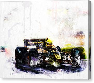 Formula 1 John Player Special Canvas Print by Gary Bodnar