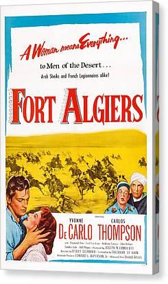Fort Algiers, L-r Carlos Thompson Canvas Print