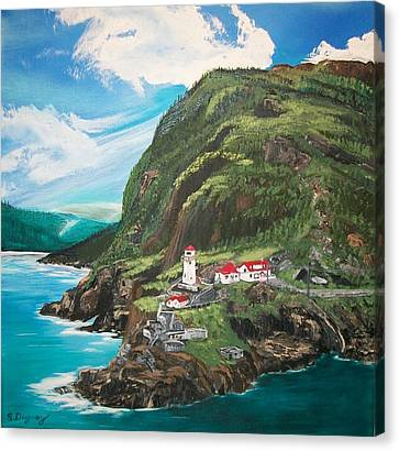 Fort Amherst Newfoundland Canvas Print