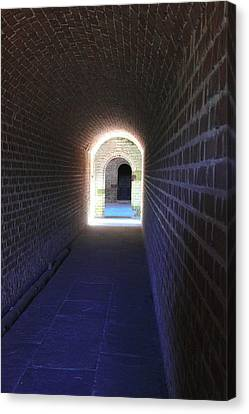 Fort Clinch Tunnel 3 Canvas Print