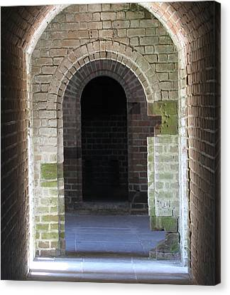 Fort Clinch Tunnel Canvas Print
