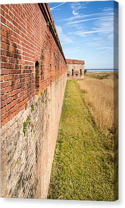 Fort Clinch Canvas Print by Wade Brooks