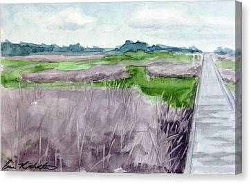 Fort Fisher's Path Canvas Print