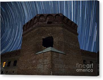 Garden Scene Canvas Print - Fort Jefferson Nights by Keith Kapple