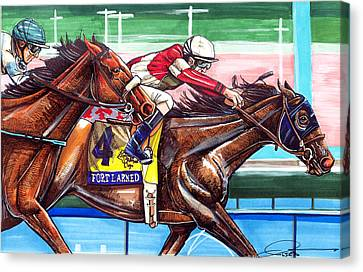 Fort Larned Canvas Print by Dave Olsen