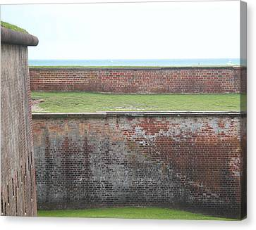Fort Macon 13 Canvas Print