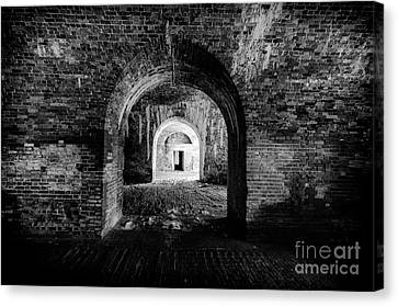Fort Morgan Canvas Print by Danny Hooks