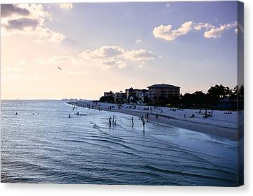 Fort Myers Sunset Canvas Print