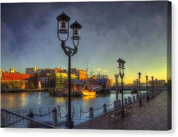 Fort Point Channel Sunset - Boston Canvas Print