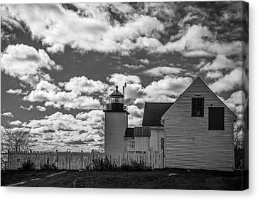 Fort Point Lighthouse Canvas Print by Robert Clifford