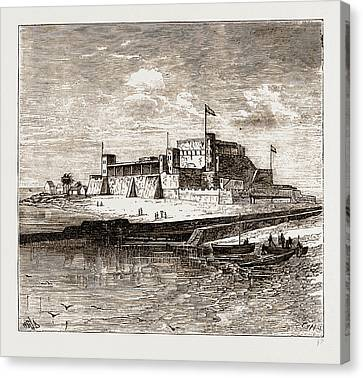 St George Canvas Print - Fort St. George, Elmina by Litz Collection