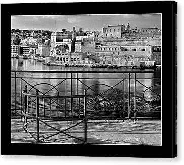 Fort St.angelo Canvas Print