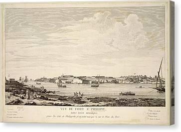 Fort Stphilippe Canvas Print