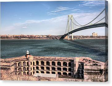Fort Wadsworth  Canvas Print by JC Findley