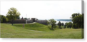 Cannons Canvas Print - Fort Washington Park - 12124 by DC Photographer