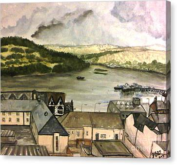 Fort William Canvas Print by Fiona Glass W