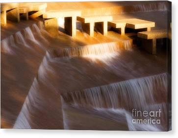 Fort Worth Water Gardens Steps Canvas Print