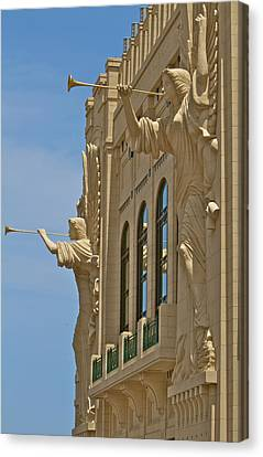 Fort Worth's Angels Canvas Print