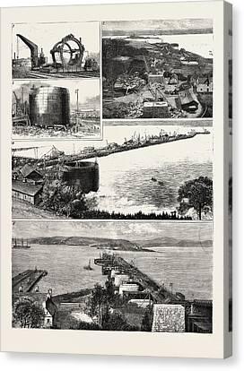 Forth Bridge Railway Canvas Print