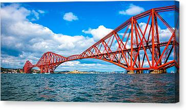 Forth Rail Bridge Canvas Print