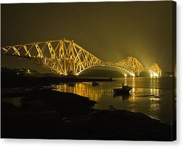 Forth Rail Bridge Scotland Canvas Print