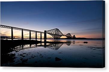 Forth Rail Bridge Canvas Print by Stephen Taylor