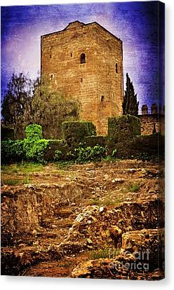 Fortress Tower Canvas Print by Mary Machare