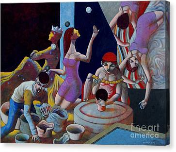 Fortune Sellers Canvas Print by Paul Hilario