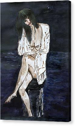 Forty. Canvas Print by Shlomo Zangilevitch