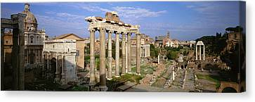 Forum, Rome, Italy Canvas Print by Panoramic Images