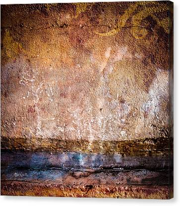 Foundation Number 105 Canvas Print by Bob Orsillo