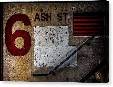 Foundation Number Nineteen Canvas Print by Bob Orsillo