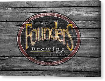 Founders Brewing Canvas Print