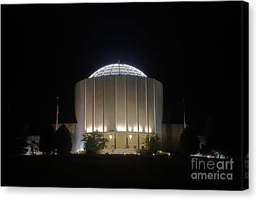 Founders Hall At Night Canvas Print