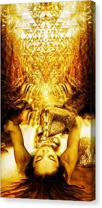 Canvas Print featuring the photograph Fountain Of Boundless Love by Jalai Lama