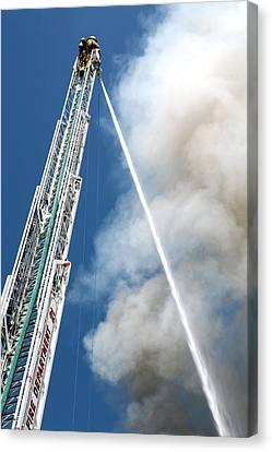 Four Alarm Blaze 001 Canvas Print