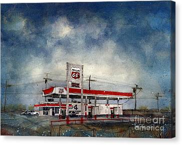 Four Corners Mart Canvas Print by Tim Oliver