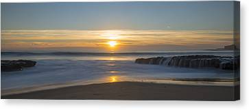 Four Mile Beach Sunset Canvas Print by Loree Johnson