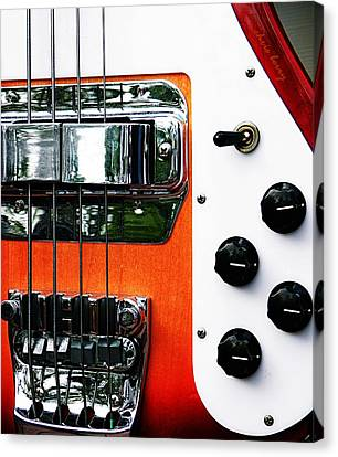 Four String Rickenbacker Bass  Canvas Print by Chris Berry